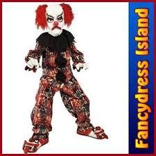 Kids Scary Clown Halloween Costumes Clown Costume Ebay