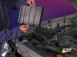changer de si e air how to change your air filter