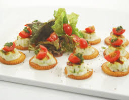 how to canapes how to savoury biscuit and paneer canapes recipe by masterchef