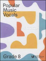 paper pattern grade 8 popular music vocals grade 8 london college of music lcm singing