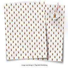dachshund christmas wrapping paper gift wrap