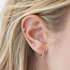 cool cartilage earrings earrings for cartilage beautify themselves with earrings
