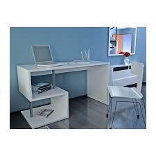 bureau design laqué blanc bureau laque blanc design esse bureau asymactrique 140cm laquac