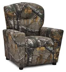 Youth Recliner Chairs Kidz World Real Tree Camouflage Recliner Home