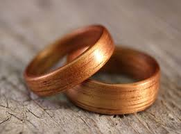 wooden wedding rings wood wedding rings for men and women wasabifashioncult