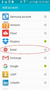 android email android email set up communikate