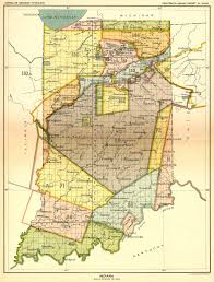 indiana map us indian land cessions in the u s indiana map 19 united states