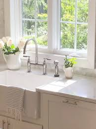 white kitchen cabinets with farm sink apron front farm sinks why i chose one for our classic