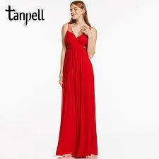 aliexpress com buy tanpell straps evening dress backless