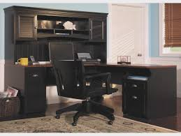 Corner Office Desk With Hutch Black Office Desk Hutch Fireplace Cool L Shaped Desk With Hutch
