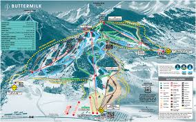 Beaver Creek Colorado Map by Apsen Colorado Buttermilk Trail Map Places I U0027ve Snow Skied