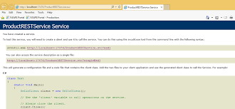 C  Net How To  Consume a WCF Web Service in Visual Studio