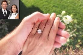 gorgeous engagement rings carrie inaba s engagement ring from robb derringer