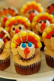 ideas for thanksgiving cupcake decorating family
