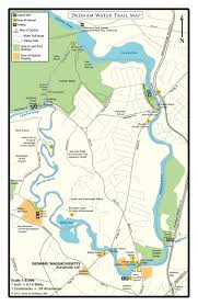 First Landing State Park Trail Map by Dedham Water Trail National Recreation Trail Database