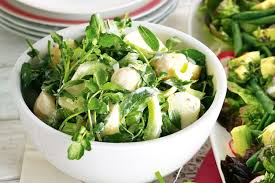 Celery Salad Potato And Celery Salad With Yoghurt Dressing
