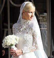nicky wedding nicky marries see wedding dress look and more