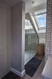 loft bathroom ideas loft sloping ceiling showers glass360 specialist and bespoke