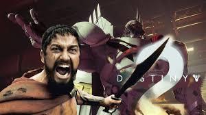Sparta Meme - cabal leader ghaul spartan kicks our guardian destiny 2 meme