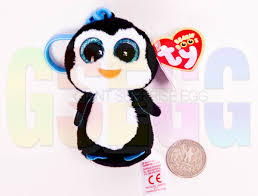 beanie boo clip waddles penguin