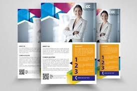 ngo brochure templates professional flyer templates flyer templates creative market