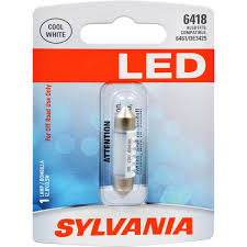 amazon com sylvania 6418 36mm festoon white led bulb contains 1