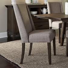 Fully Upholstered Dining Room Chairs Liberty Furniture Double Bridge Contemporary Upholstered Side Chair