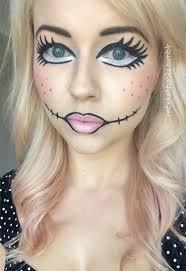 doll makeup ideas mugeek vidalondon halloween