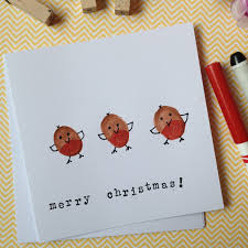 my two girls red robin christmas cards