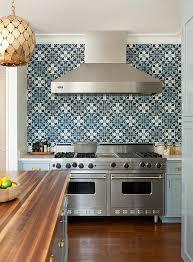 blue kitchen tile backsplash strikingly design kitchen back splashes with blue home design