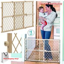 evenflo home decor wood swing gate evenflo soft and wide gate the