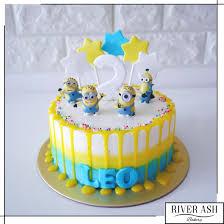minions cake minions drip cake singapore minions minions 3 river ash bakery