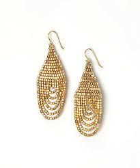 zad earrings zad gold seed bead teardrop earrings zulily