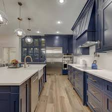 electric blue kitchen cabinets the top 89 kitchen cabinet color ideas