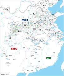 Yuan Dynasty Map Ma Teng Shoucheng Ma T U0027êng 馬騰 Romance Of The Three