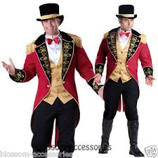 Lion Tamer Halloween Costume C906 Ringmaster Elite Mens Circus Lion Tamer Ring Master Halloween