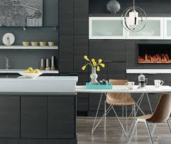 Kitchen Design Centers by Laminate Cabinets In Contemporary Kitchen Design Kemper