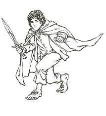 lotr coloring pages 10967