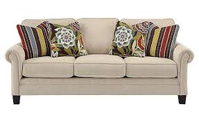 Sofa Living Spaces by Ballari Linen Sofa Obviously Not The Pillows But This Was A