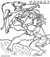 tarzan jane coloring pages tarzan coloring pages coloring