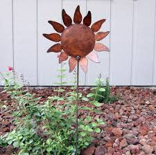 58 best garden decorations images on metal flowers