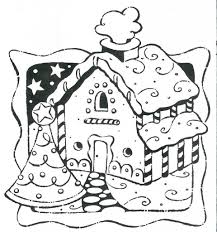 gingerbread house coloring pages printable coloringstar
