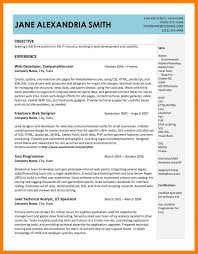 9 resume samples doc letter setup