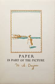 strathmore writing paper paul shaw letter design the definitive dwiggins no 24 talks on cover of brochure