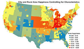 Happiest States 2016 5 Happiest Cities In U S All In 1 State