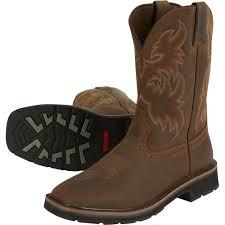 rancher logging wolverine 10in rancher work boots u2014 dark brown rust model