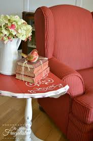 a painted wing chair change the color not the fabric the