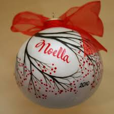 painted winterberry ornament personalized 15 00 via etsy