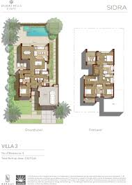 floor plans sidra at dubai hills estate by emaar