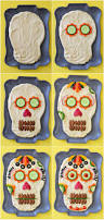 Appetizer For Halloween Party by Dia De Los Muertos Hummus Dip Fork And Beans